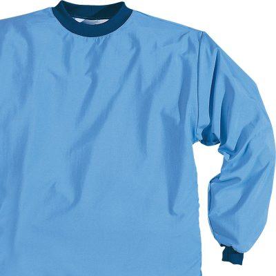 DTB bajo uniforme camisola de materiales antimicrobianos con barrera anticontaminantes