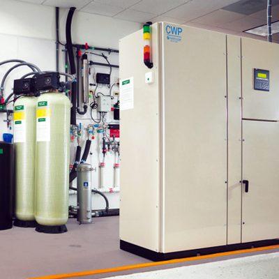DTB biopure CIP clean in place system para sanitizar las membranas sin removerlas de los Housings
