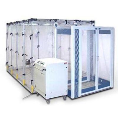 Cámara ISOARK de presión negativa portátil para aislar pacientes contaminados por agentes biológicos
