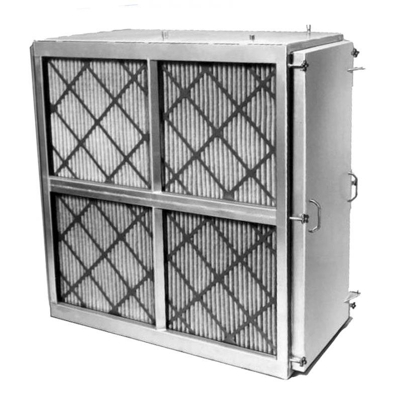 DTB filtro hepa eléctricamente mejorado con ultra baja caída de presión para unidades de aire UMAs