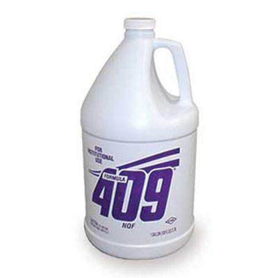 DTB formula 409 desnaturaliza las proteínas de sangre al interior del equipo para una mejor limpieza
