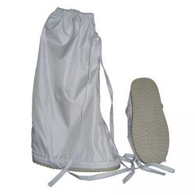 DTB botas antiestáticas de materiales antimicrobianos con barrera anticontaminantes y cintas ajustables
