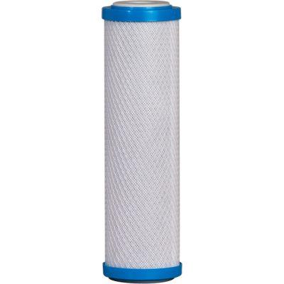 DTB cartucho filtro con bloque de carbon de alta absorbencia disponible en tres grados de micrón