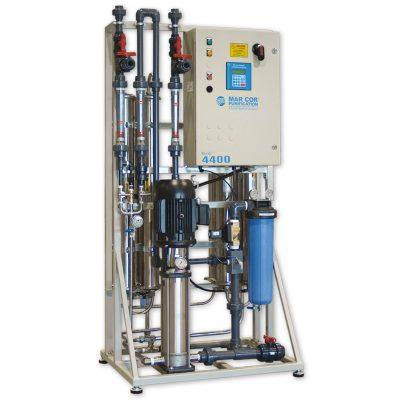 DTB medical reverse osmosis systems con membranas de TF Polyamida y housing de acero inoxidable