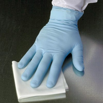 DTB polywipe light con tejido entrelazado de poliéster y borde cortado a cuchilla