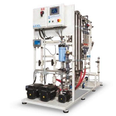 DTB reverse osmosis systems con membranas de TF Polyamida y housing de acero inoxidable