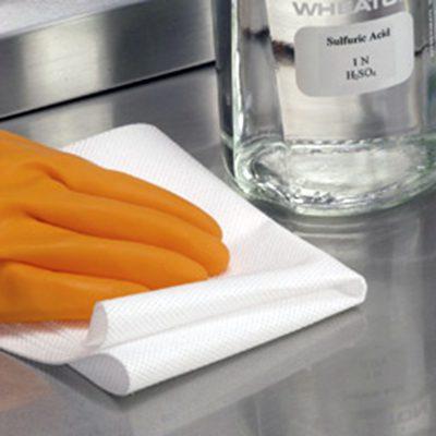 DTB toalla limpiadora amplitude helix de polipropileno resistente a ácidos ideal para usar en laboratorios