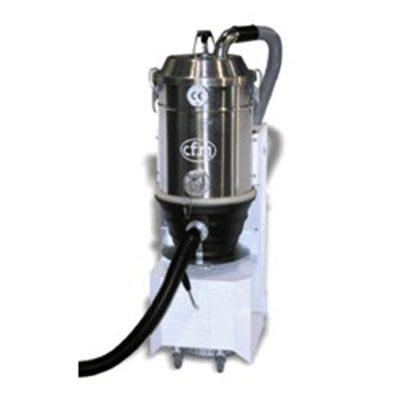DTB aspiradora industrial Safe-Pak para la recolección ultrasegura de material peligroso usados en la industria farmacéutica.