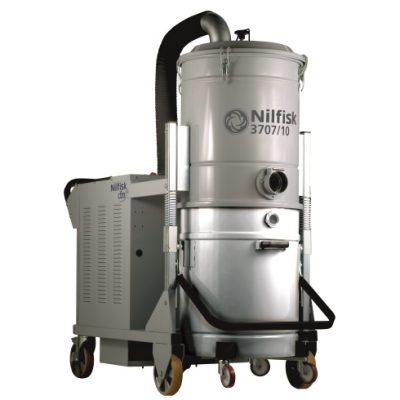 DTB aspiradora industrial para materiales pesados ideal para laboratorios y instalaciones de cuarto limpio.