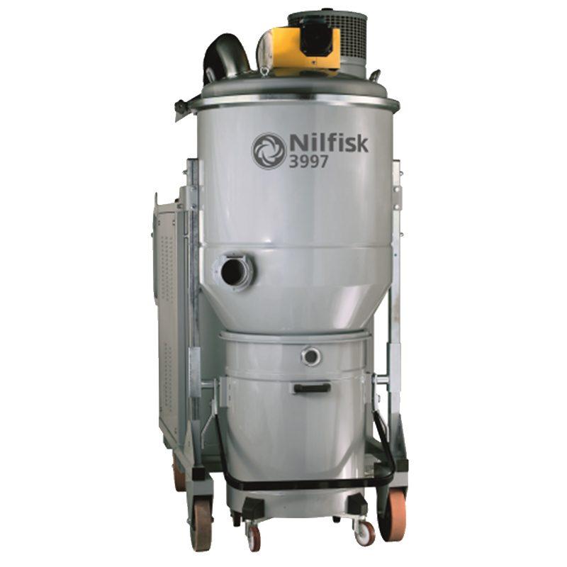 DTB aspiradora industrial potente móvil para uso intensivo y continuo