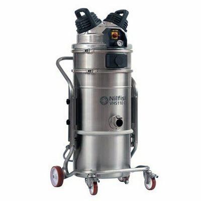 DTB Aspiradora Industrial monofásica para aplicaciones de cuarto limpio secas y humedas