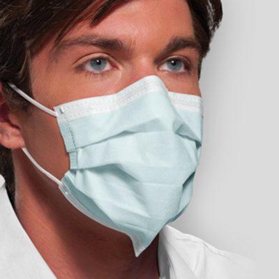 DTB cubrebocas para cuidado de personal hospitalario aptos para cuarto limpio industria médica y farmaceutica.