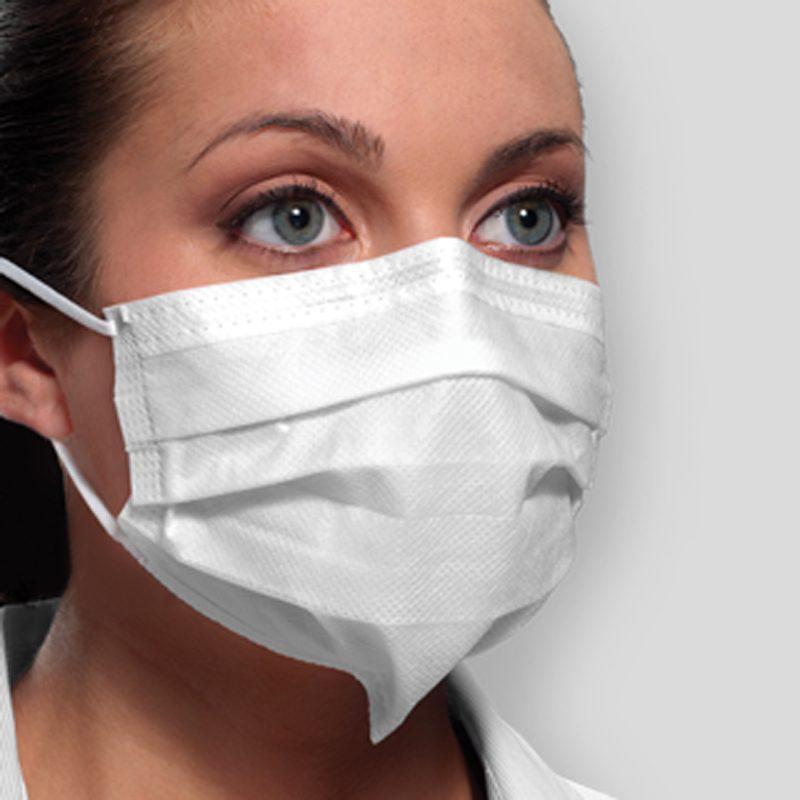 DTB cubrebocas para cuidado de personal hospitalario apto para cuarto limpio, industria medica farmaceutica y alimenticia